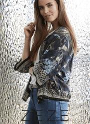 ZE-ZE Bliss pynte jakke med print
