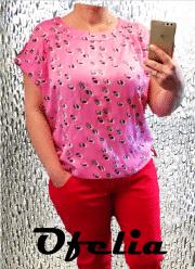 OFELIA Edvia bluse. Pink