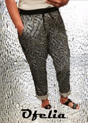 OFELIA Hilde pants. Print 1