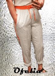 OFELIA Hilde pants. Print 2