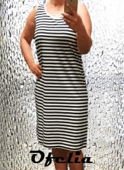 OFELIA Julie kjole. Navy