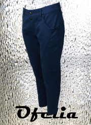 OFELIA Nora 7/8 dels super stretch pants. Navy