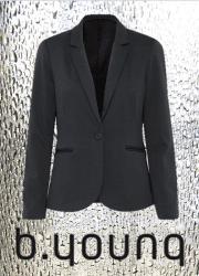 B.YOUNG Selouise jersey blazer