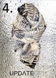 UPDATECPH Viscosetørklæde. Nr. 4