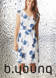 B.YOUNG Timmo flower dress
